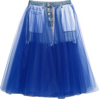 Ben Taverniti Unravel Project BEN TAVERNITITM UNRAVEL PROJECT 3/4 length skirts