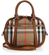 Burberry Small Plaid Orchard Satchel