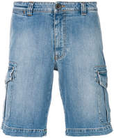 Eleventy straight denim shorts
