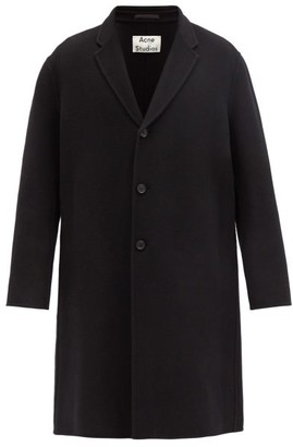 Acne Studios Chad Wool Overcoat - Mens - Black
