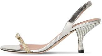 Marco De Vincenzo 65mm Patent Leather Sandals