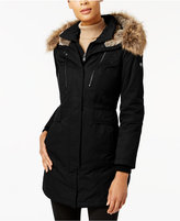 1 MADISON EXPEDITION One Madison Expedition Faux-Fur-Lined Layered Parka