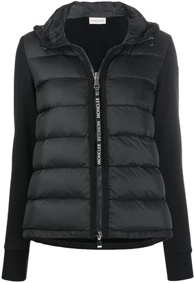 Moncler Quilted Zipped Puffer Jacket