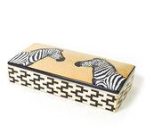 Jonathan Adler Animalia Zebra Decorative Box