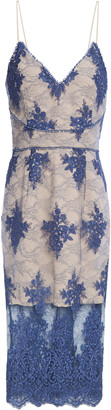 Nicholas Corded Lace Midi Dress