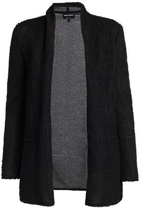 Giorgio Armani Jersey Textured Cardigan
