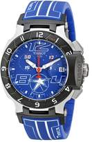Tissot Men's T0484172704700 Nicky Hayden T-Race Limited Edition Analog Display Swiss Quartz Watch