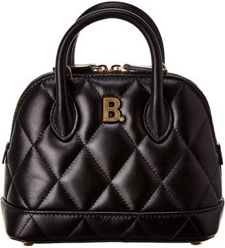 Balenciaga Ville Quilted Leather Shoulder Bag