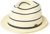 Barbour Machar Natural Striped Paper Trilby