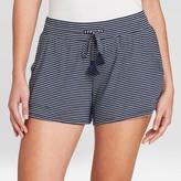 Stars Above Women's Striped Beautifully Soft Pajama Shorts - Stars AboveTM Navy