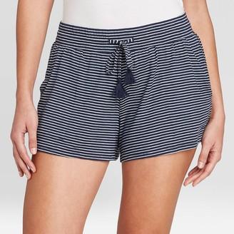 Stars Above Women's Striped Beautifully Soft Pajama Shorts - Stars AboveTM