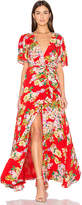 Privacy Please x REVOLVE Plaza Kimono Dress in Red. - size M (also in )