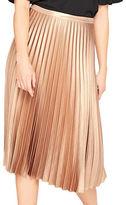 Miss Selfridge Accordion Pleated Midi Skirt