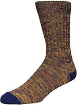 Barbour Deck Socks MSO0118-NY51 Navy / Ecru