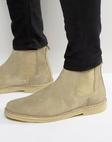 Selected Homme Royce Suede Chelsea Boots