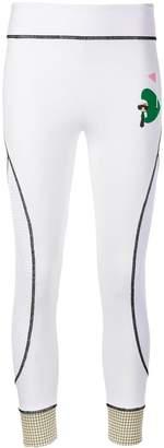 Fendi Karl logo print leggings