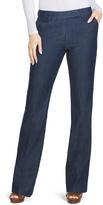 White House Black Market Curvy Trouser Flare Jeans