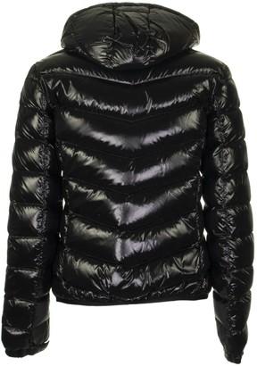 Colmar Ultra-glossy Hooded Bomber Jacket Black