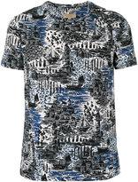 Burberry printed T-shirt - men - Cotton - S