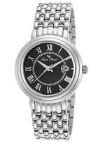 Lucien Piccard Stainless Steel & Black Fantasia Bracelet Watch - Women