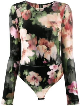 Twin-Set floral-print T-shirt
