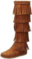 Minnetonka Women's Layer Fringe Boot