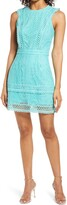 Thumbnail for your product : Adelyn Rae Shayna Mixed Lace Dress