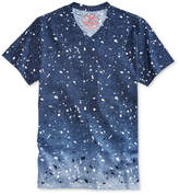 American Rag Men's Ombre Paint Splatter V-Neck T-Shirt, Only at Macy's