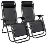 Zero Gravity Bermudes Reclining Chair Red Barrel Studio Color: Black