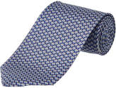 Salvatore Ferragamo Navy Ladybug Silk Tie
