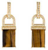 Rachel Zoe Square Drop Earrings