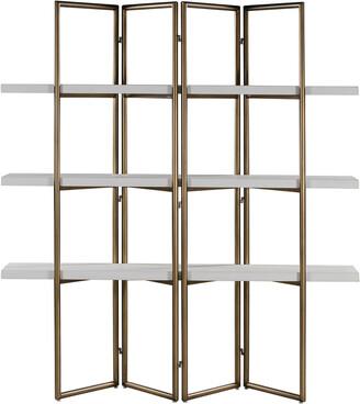Tov Furniture Kupa Concrete Bookcase