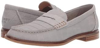Sperry Seaport Penny Croc (Grey) Women's Shoes