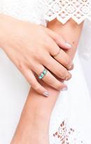 MUMU Turquoise and Tobacco ~ Cree Ring