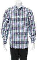 Paul & Shark Plaid Button-Up Shirt