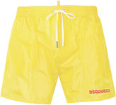 DSQUARED2 logo printed swim shorts