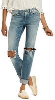 Scotch & Soda Supreme Distressed Straight Jeans in Beach Bandits