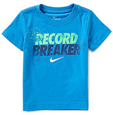 Nike Little Boys 2T-7 Record Breaker Short-Sleeve Tee