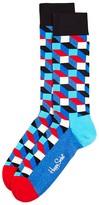 Happy Socks Men's Filled Optic Cube Socks