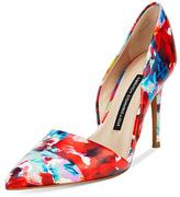 French Connection Elvia Fractured Floral Heel