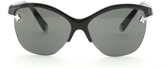 Louis Vuitton Violet Cat Eye Sunglasses Acetate