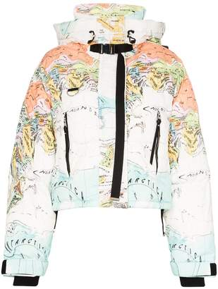 SHOREDITCH SKI CLUB Melting World puffer jacket