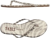TKEES Toe strap sandals - Item 11146265