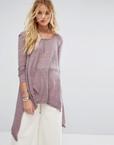 Free People The Incredible Long Sleeved Tunic Top