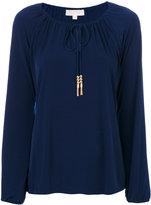 MICHAEL Michael Kors tie neck blouse