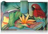 Anuschka Hand Painted Large Smartphone Case & Wallet