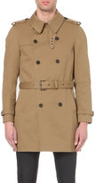 The Kooples Double-breasted Cotton-twill Coat