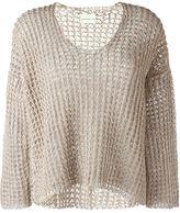 Simon Miller wide knit scoop neck jumper