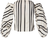 Johanna Ortiz Cotton Silk Striped Frida Top