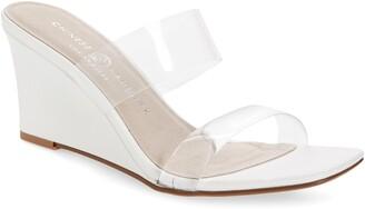 Chinese Laundry Tann Wedge Slide Sandal